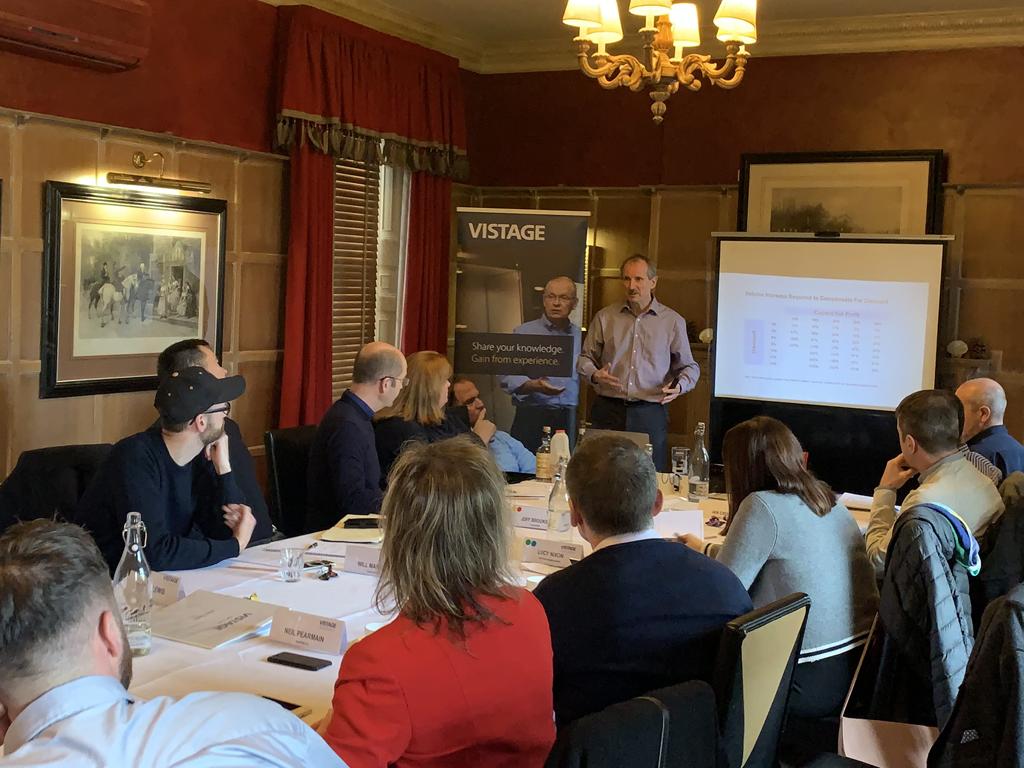 Vistage Peer Group Meeting Norfolk